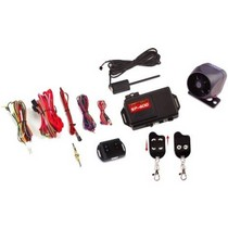 1961-1964 Chevrolet Impala Crime Stopper 1-Way Car Alarm, Remote Start Security System With Keyless Entry, Two 4-Button Remote Transmitters Included