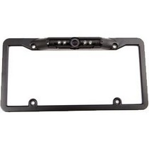 "1988-1996 Ford F250 Crime Stopper 1/3"" CMOS License Plate Camera With 180-Deg. Viewing (Black)"
