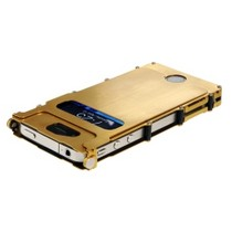 2005-2008 Audi A4 CRKT Stainless Steel Gold INOX Case for the iPhone 4