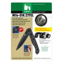 2008-9999 Smart Fortwo CRKT Carson M16-01K Zytel® Pocket knife With Free LED Headlamp
