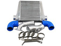 2008+ Subaru Impreza WRX (non STI) CX Racing Top Mount Intercooler Kit - 18