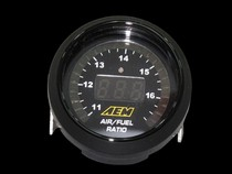 1998-2004 Chrysler Concorde CX Racing AEM UEGO Digital Wideband AFR Gauge with Boost Gauge