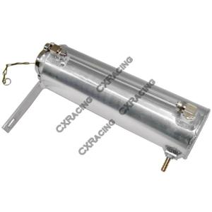 CXRacing Universal Aluminum Coolant Expansion Fill Tank For Acura Integra