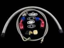 All Vehicles (Universal) CX Racing Turbo Oil Line Kit (AN4 Feed Line / AN10 Return Drain)