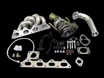 90-94 Eagle Talon 4G63 Turbo (Manual Transmission), 90-94 Mitsubishi Eclipse 4G63 Turbo (Manual Transmission) CX Racing TD05/16G Turbocharger Kit (Includes Intercooler and Radiator)