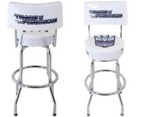 1997-2002 GMC Savana DefenderWorx Decepticon Bar Stool with Back