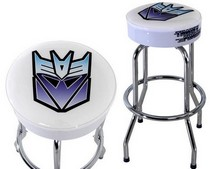 1967-1969 Pontiac Firebird DefenderWorx Decepticon Bar Stool