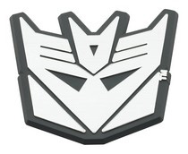2001-2003 Mazda Protege DefenderWorx Decepticon Trunk Badge
