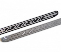 07-13 TOYOTA Tundra DefenderWorx Door Sills - Chrome