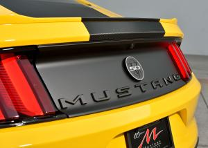 DefenderWorx 900744 Chrome Rear Trunk Badge for Ford Mustang
