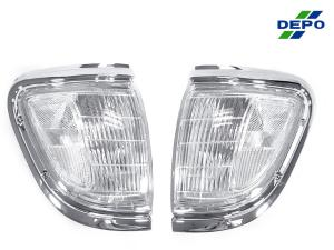 1995 1997 Toyota Tacoma 4wd Depo Clear Front Corner Lights