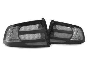 2004 2008 Acura Tl Depo Black Clear Rear Tail Lights