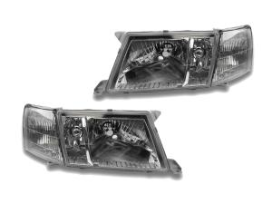Lexus Ls Headlights At Andy's Auto Sport. 19951997 Lexus Ls400 Depo Crystal Clear Headlights Corner 4 Pieces Set. Lexus. 1993 Lexus Headlight Wiring At Scoala.co