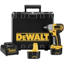 "1993-1997 Eagle Vision Dewalt Tools Heavy-Duty 3/8"" Drive (9.5mm) 12V Impact Wrench Kit"