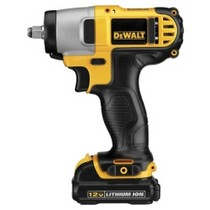 "2008-9999 Smart Fortwo Dewalt Tools 12 Volt Lithium Ion 3/8"" Drive Impact Wrench Kit"
