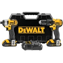 2009-9999 Toyota Venza Dewalt Tools 20V MAX Lithium Ion Compact Drill and Driver Combo Kit