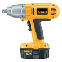"1995-2000 Chevrolet Lumina Dewalt Tools 1/2"" Heavy Duty 18 V Cordless Impact Wrench"