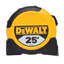 1997-2002 GMC Savana Dewalt Tools 25 Ft. Tape Measure