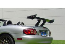 1988-1991 Honda Civic DG Motorsports Carbon Fiber Wings - CF-1 Multi Adjustable