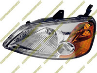 2001-2003 Honda Civic Dimension Lab Headlights - OEM Style Replacement (Driver Side)