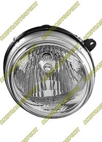 02-04 Jeep Liberty Dimension Lab Headlights - OEM Style Replacement (Passenger Side)