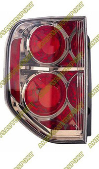 06-07 Honda Pilot Dimension Lab Tail lights - OEM Style Replacement (Driver Side)