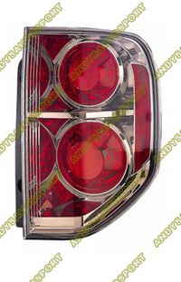 06-07 Honda Pilot Dimension Lab Tail lights - OEM Style Replacement (Passenger Side)