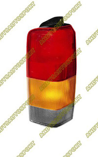1997-2001 Jeep Cherokee Dimension Lab Tail lights - OEM Style Replacement (Driver Side)