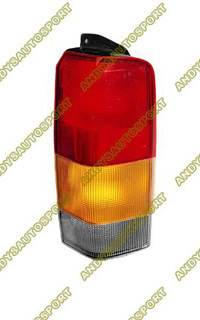1997-2001 Jeep Cherokee Dimension Lab Tail lights - OEM Style Replacement (Passenger Side)