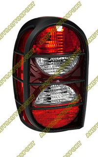 05 Jeep Liberty Dimension Lab Tail Lights Oem Style Replacement Driver