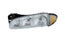 96 99 Pontiac Bonneville Dlab Headlight Combo W Corner Lamp