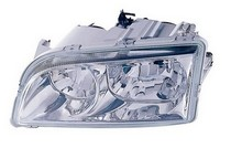 00-04 Volvo S40 , 00-04 Volvo V40 Dlab Headlight (W/ Chrome Bezel) - Left Side