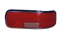 93-96 Chevy (4Dr) Caprice Dlab Tail Light (W/ Chrome Trim, Red Lens) - Right Side