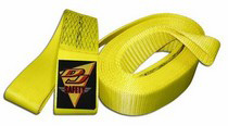 1967-1972 Ford F350 DJ Safety 30,000 LB Tow Strap - Loop Both Ends (30 Feet)