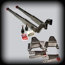 "Shackles 4/"" Rear Drop Lowering Kit Ford F100 1973-1979 2WD Leaf Spring Hangers"