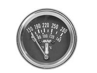 1969-1972 Mercury Colony_Park Dorman Gauge - Water Temperature