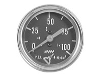 1969-1972 Mercury Colony_Park Dorman Gauge - Oil