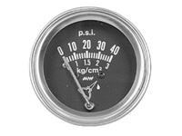 1969-1972 Mercury Colony_Park Dorman Gauge - Oil Pressure