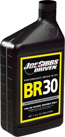 Recommended Use: Motocross/ATV Engines for Break-in Driven Racing BR30 Break In Oil - 5w-30 (Quart)