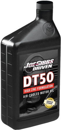 High Performance Air- Cooled Engines, Vintage German Air Cooled Engines Driven Racing DT50 - Air-Cooled High Zinc Synthetic - 15w-50 (Quart)