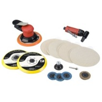 2003-2004 Mercury Marauder Dynabrade Products Bodyman's Random Orbital Sander and Angle Die Grinder Kit