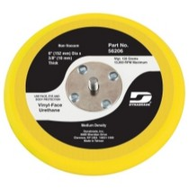 "1966-1970 Ford Falcon Dynabrade Products 6"" Diameter Non-Vacuum Disc Pad, Vinyl-Face"
