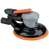 "2003-2004 Mercury Marauder Dynabrade Products 6"" Central Vacuum Silver Supreme Orbital Sander - 3/8"" Diameter Otbit"