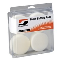 "1960-1964 Ford Galaxie Dynabrade Products 3"" White Foam Polishing Pads"
