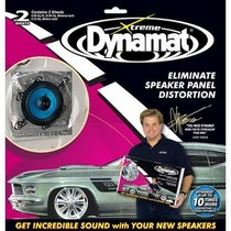 "1979-1983 Ford Mustang Dynamat 1.4 Ft.¼ Pack With (2) 10"" X 10"" Pieces of Dyanamat Extreme"