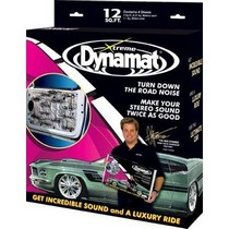 "1980-1983 Honda Civic Dynamat 12 Ft.¼ Door Kit With (4) 12"" X 36"" Pieces of Dynamat Extreme"