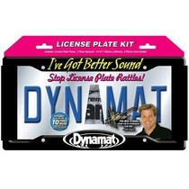 All Jeeps (Universal), All Vehicles (Universal) Dynamat Extreme 19100 License Plate Kit
