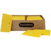 "1966-1970 Ford Falcon Dynatron Bondo Dynatron® Yellow Spreaders - 3"" x 4"" (Case of 144)"