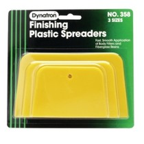 1986-1992 Mazda RX7 Dynatron Bondo Dynatron® Yellow Spreaders - 3 Pack Assorted