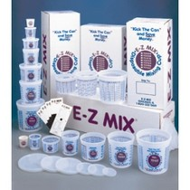 1967-1970 Pontiac Executive E-Z Mix Disposable Mixing Cups and Lids - 1/4 Pint Cups (400)